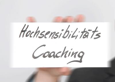 Coaching zu Hochsensibilität