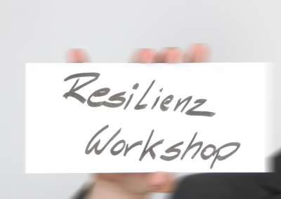 Workshop zu Resilienz